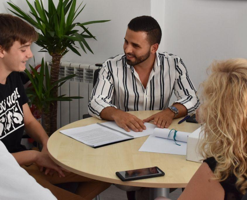 Asesoramiento personalizado educativo para familias
